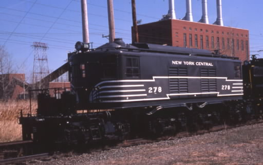 Historic electric locomotives in glenmont ny Central motors