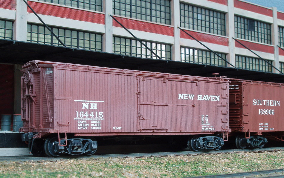 Wooden Rail Cars ~ New haven railroad wooden box cars penneyvanderbilt