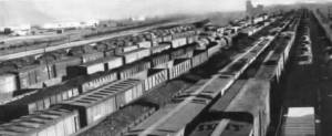 Indiana Harbor Belt's Gibson Yard in 1950