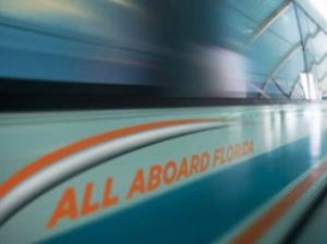 All Aboard Florida Train