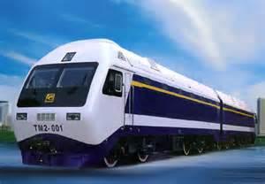 Chinese Electric Locomotive