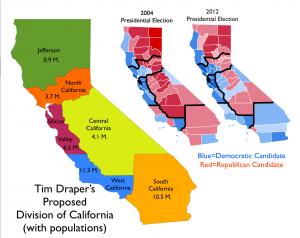 CaliforniasmapsMultiState
