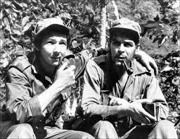 Castro Fighting Batista