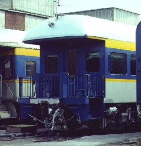 D&H Business Car ²at Colonie in '60's
