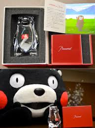 Kumamon the goofy black bear
