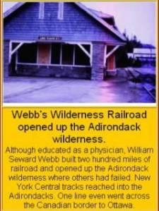 Webb's Wilderness Railroad