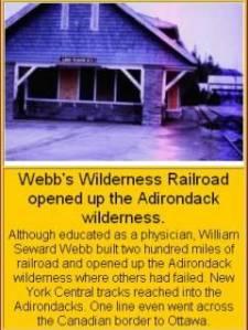 Webb's Wilderness Railroad