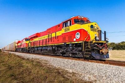 Florida East Coast Railway Runs Inaugural Of New GE Tier 3  ES44C4 locomotives
