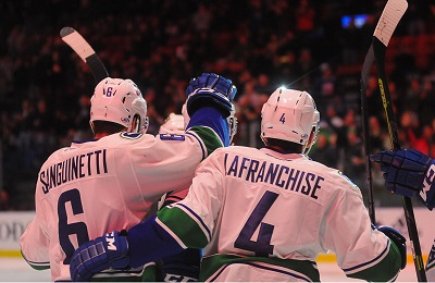 Utica Comets Over Rochester Americans 3-1 At AUD