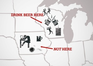 Beer Drinkers Map