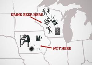 Beer Drinkers Map