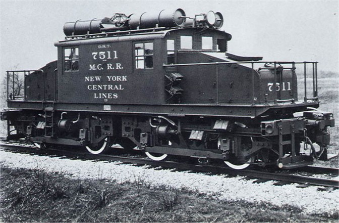 Detroit Tunnel Motors On New York Central Railroad