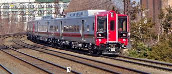 New M-8 rail cars now running on Metro-North's New Canaan branch
