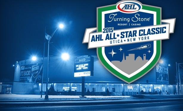 American Hockey League  All-Stars In Utica Aud