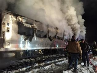 Commuter train slams into SUV on tracks, killing 6 people