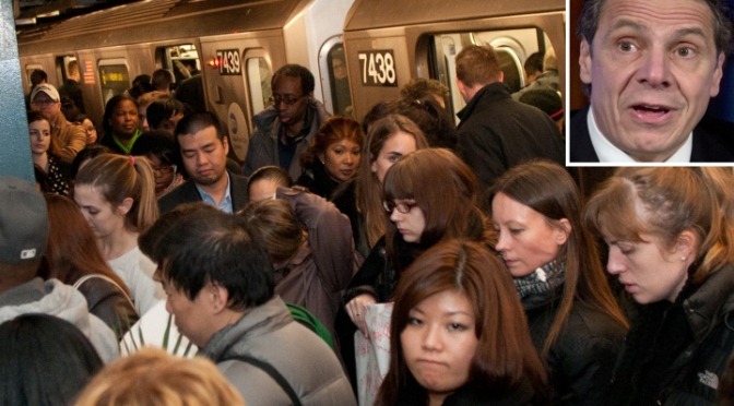 MTA Works to Minimize Record Crowds on New York City Subways