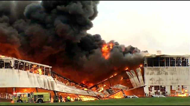 Huge Fire at General Electric's Appliance Park