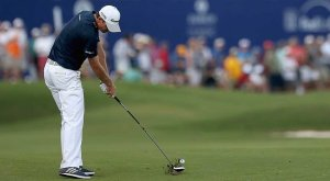 Justin Rose In Action