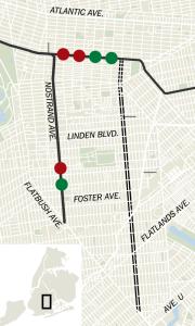 Utica Ave Map