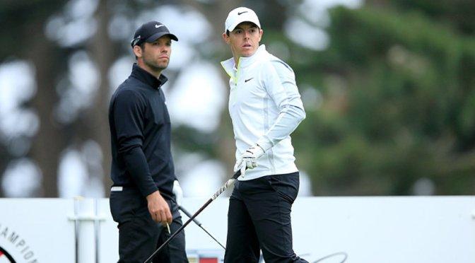 McIlroy OVER Casey Golf match spills into Sunday