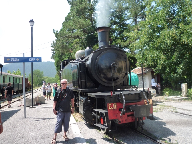 A Great Weekend For Rail Fans in Southern France