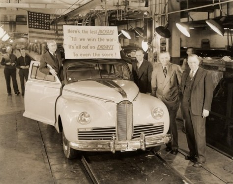 The last Packard, 1942