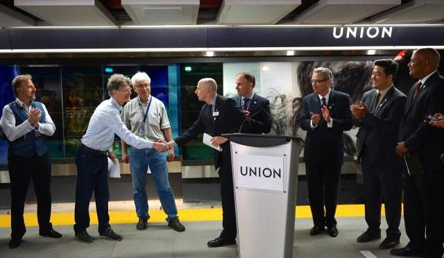 Union Subway Station Completed and Full Artwork Unveiled