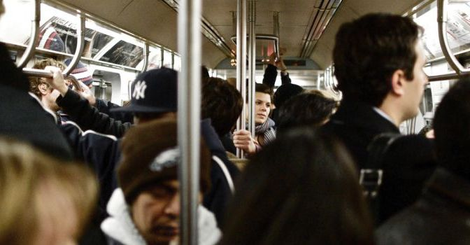 Give subway riders a reason to celebrate