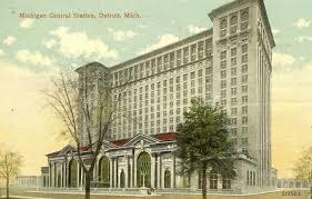 Detroit's Michigan Central Railroad Station