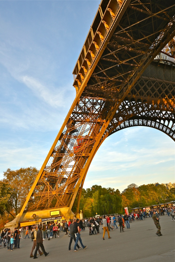 The Radical Design of Eiffel's Tower