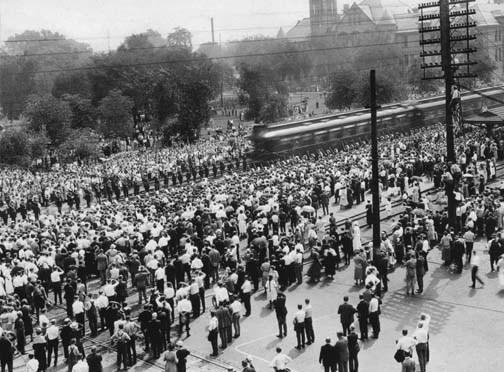 President Warren G. Harding's Funeral Trains