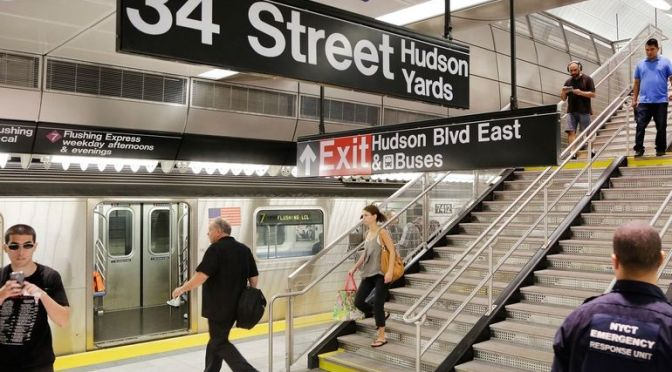 No. 7 subway extension is $500 million and one stop short