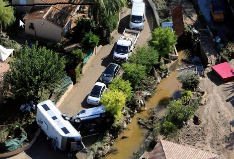 Picturesque French Riviera hit by deadly flash floods