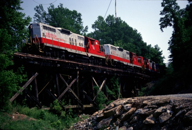 Georgia Northeastern Railroad to be acquired