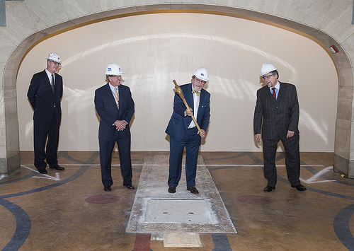 MTA makes way for Long Island Rail Road concourse under Grand Central