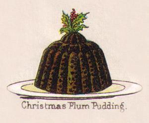 Mrs Beeton Plum Pudding