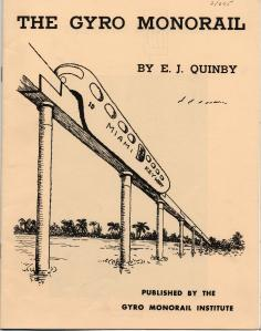 Proposed Monorail to Key West published in 1970. From the Monroe County Library Collection.