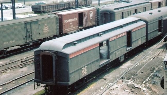 Head End Railroad Equipment: Mail Cars