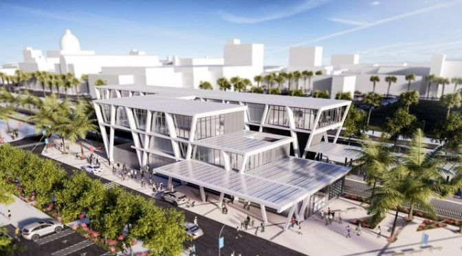 All Aboard Florida West Palm Beach Station Begins In 2016