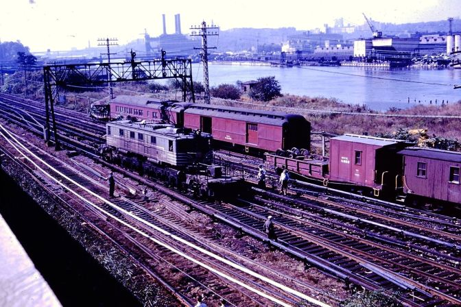 """NY Central Railroad Accident 1960 at """"BN"""""""