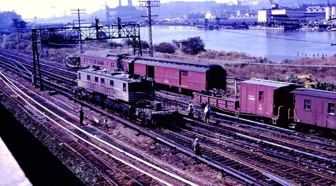 "NY Central Railroad Accident 1960 at ""BN"""