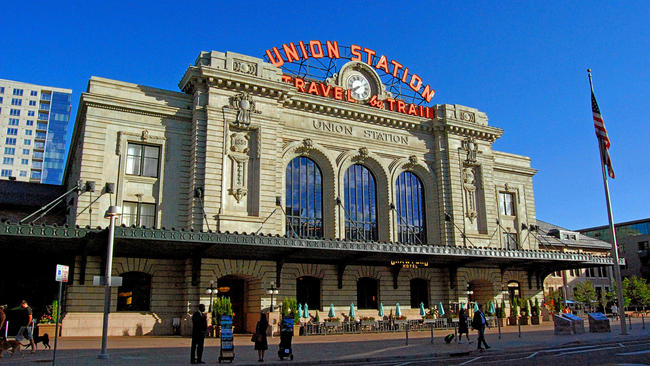 Denver Station Restoration Leads Way To Rail Revival