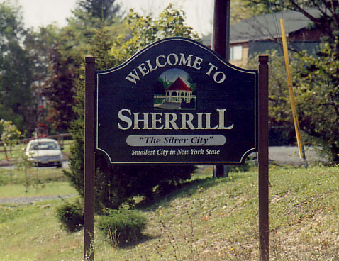 Sherrill, New York: Smallest City in State; as Anniversary