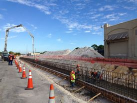 All Aboard begins construction of train maintenance facility