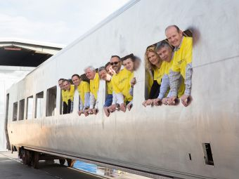 Siemans Completes First Brightline Coach Carshell