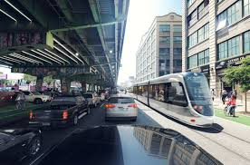 NY unveils Brooklyn-Queens streetcar (tramway) plan