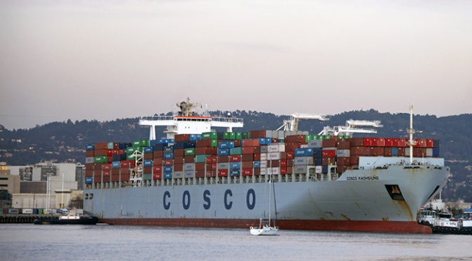 Cosco targets March 1 for merger of CSCL fleet