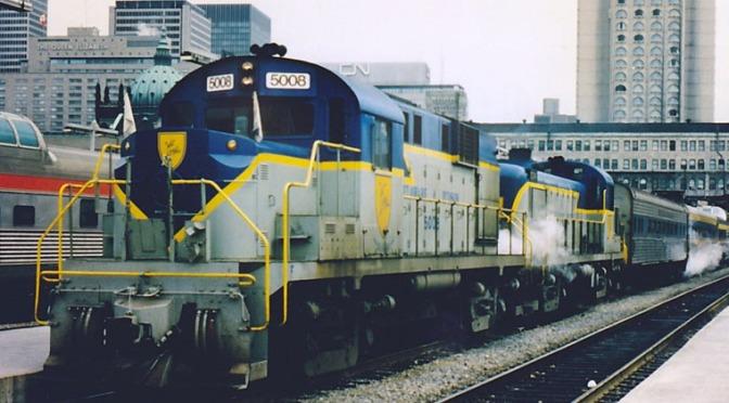Delaware & Hudson Passenger Train Demise
