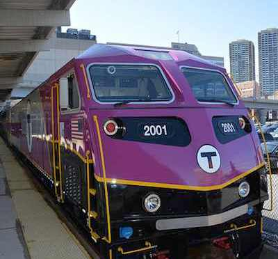 MBTA commuter trains achieve best on-time rating in December