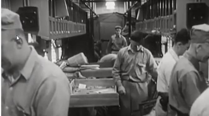 Men, Mail & Transit (1956 Cinema) by US Post Office